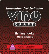 VIDO Craft - рыболовные крючки made in Korea